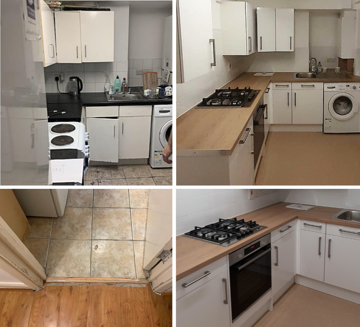 Chigwell Group kitchen installation update